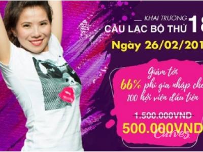 Mừng CLB Curves thứ 18 khai trương tại Việt Nam